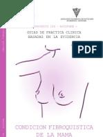 Condicion fibroquistica de mama