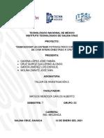 Protocolo Dimensionar Un Sistema Fotovoltaico de 2 Kw