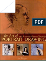 The art of portrait drawing By Joy Thomas