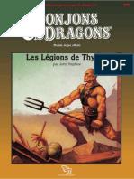D&D Module DDA2 Les Légions de Thyatis