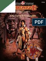 D&D BGR GAZ14 Les Clans d'Atruaghin Livret du Maître