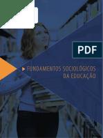 Fundamentos Sociologicos da Educação 2