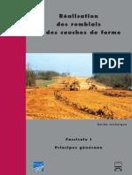 DT639 - GTR - Remblais Et Couche de Forme