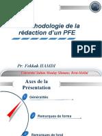 Methodologie PFE. PR HAMDI