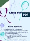 Kalite Yonetimi