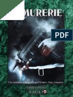 Vampire La Mascarade - Edition 20e - Armurerie