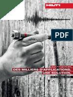 Goujon d ancrage Hilti HST3 DES MILLIERS D APPLICATIONS. UNE SOLUTION. Hilti. Performance. Fiabilité.