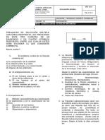 Evaluación Grado 10 Filosofía Nivelacion 4 Periodo