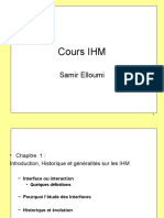 Cours IHM