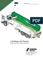 CATÁLOGO DE PEÇAS - S36 X - ES