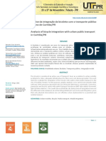 Analysis of bicycle integration with urban public transport in Curitiba PR-1-7