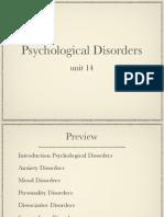u14 Disorders