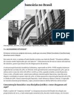 Concentração bancária no Brasil - A TERRA É REDONDA