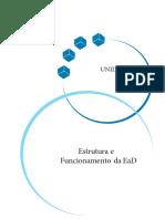 UNIDADE 2 - Estrutura e Funcionamento da EaD