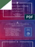 Codigo Sanitario Nacional Ley 09 79