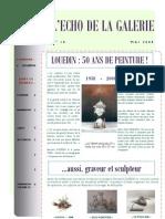 ECHO DE LA GALERIE N° 10