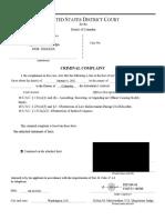 US v Stephen Chase Randolph (Complaint & SOF)