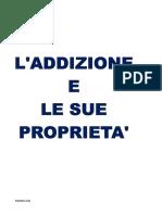 L'ADDIZIONE E LE SUE PROPRIETA'.pdf da stampare