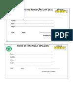 3 -FICHA DE INSCRIÇÃO CIPA 2021