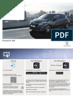 Peugeot 208 Manual Instrucciones