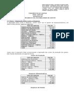 Apost 04 - Esquema Básico Da Contabilidade de Custos - Aluno