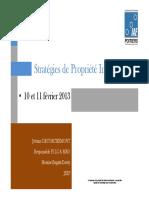 IAE Poitiers Extrait Stratégies PI février 2014 JD