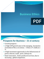 Business Ethics in 21 St Century Lecture 5