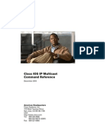 multicast reference cisco