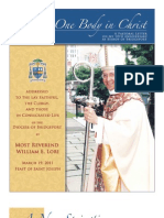 10th Anniversary Pastoral Letter