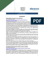 Noticias 10 de marzo RWI - DESCO