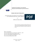 Adelino Dos Santos Filho, Propriedades Magnéticas Do Modelo de Heisenberg Nas Aproximações de Campo Médio e Efetivo(Tese de Doutorado), Aracaju, 2016.