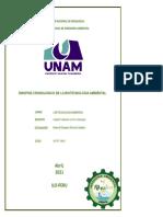 SINOPSIS CRONOLOGICA DE LA BIOTECNOLOGIA AMBIENTAL -UNAM PERÚ