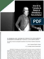 El criterio de verdad en el pensamiento extremeño. De Pedro de Valencia a J.Justo García