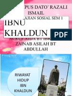 Sumbangan Ibnu Khaldun