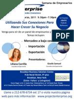 Entrepreneur Spanish 2011 flyer