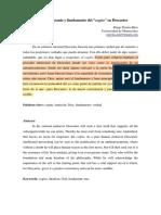 Pereira, D._dios Como Garante y Fundamento Del Cogito en Descartes