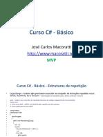 Curso C# EstruturaRepeticao