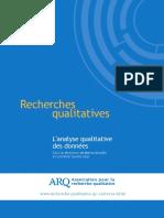Recherches Qualitatives 28 1 Numero Complet