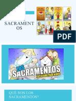 Sacramentos diapositivas 4º 5º