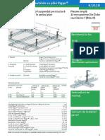 4.10.18 Plafon Fals Rezistent La Foc Structura Lemn Rigips RF