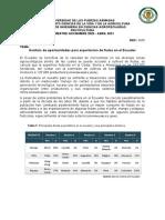 Análisis de Oportunidades Para Exportación de Frutas en El Ecuador