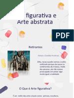 arte figurativa e abstrata