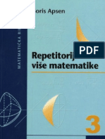 Boris Apsen - Repetitorij više matematike 3