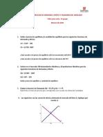 EJERCICIOS DE DEMANDA, OFERTA Y EQUILIBRIO.MZO 5