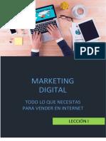 Taller online de Marketing Digital (Lección 1)