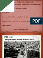 gobiernos 1920-1940