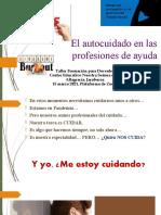 El autocuidado en las profesiones de ayuda