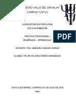 Práctica Profesional I (Autoguardado)