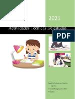 Actividad Tecnicas de Estudio - Ingles - Laura Sofia Guerrero Huertas - Septimo