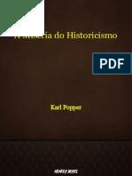 A Miseria do Historicismo - Karl Popper
